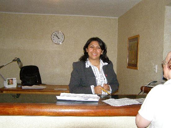 Hotel Spa Ixtapan: Spa manager Magdalena will set up your schedule