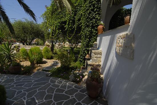 Pension Sofia: uno sguardo sul giardino