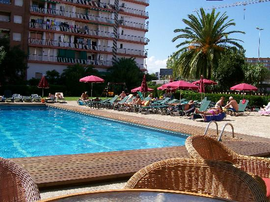 Poolside at Fenals Garden Hotel
