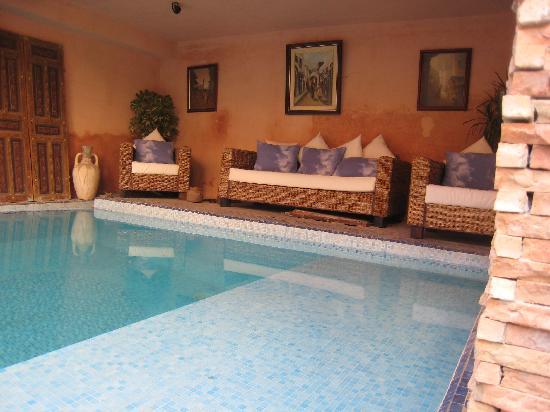 Riad Meknes: Lovely pool