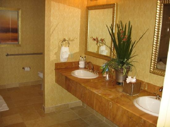 إمباسي سويتس نورث ويست أركانساس - هوتل سبا آند كونفينشن: Suite Bathroom