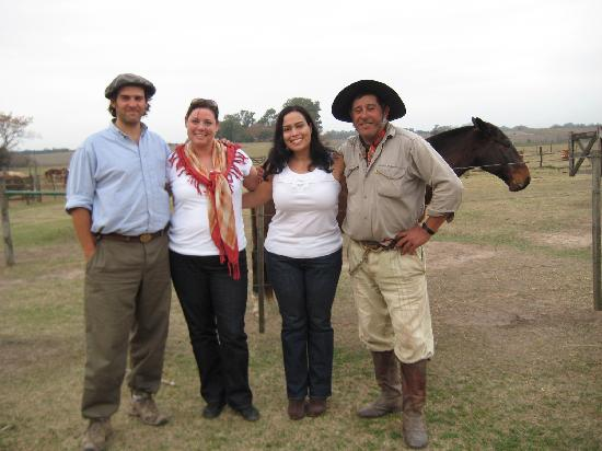 Estancia Los Dos Hermanos: Matias, me, Deb, Don Juan