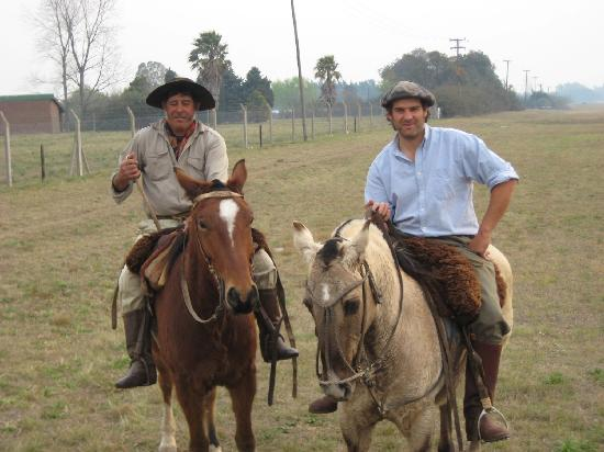 Zarate, Argentina: My favorite photo of our guides - Don Juan and Matias