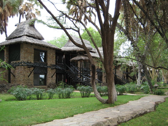 Sarova Shaba Game Lodge: Large rooms
