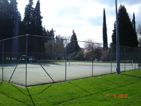 Wairakei Resort Taupo: Tennis Courts