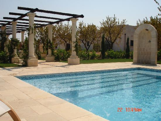 Villa Magnolia: View of pool area and pool shower