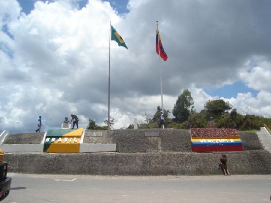 La Gran Sabana: Frontera / Border Venezuela-Brasil