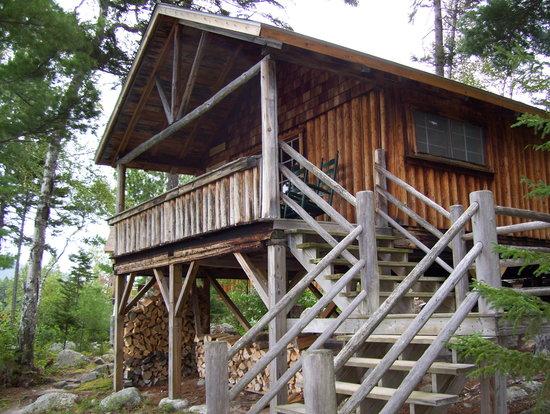 Attean Lake Lodge: A typical cabin