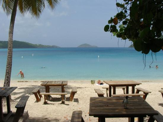 Magens Bay: View from bar