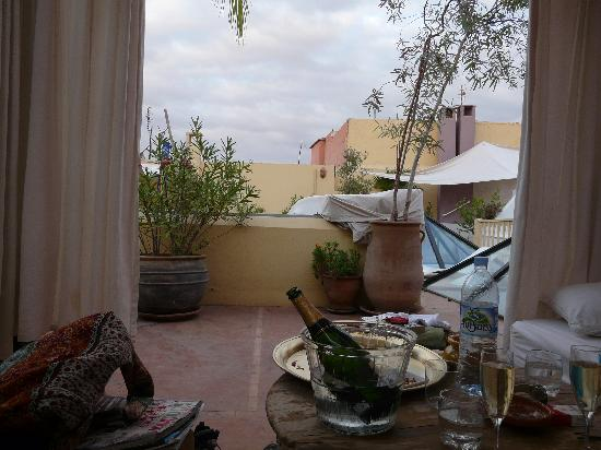 Riad Safa: On the Terrace
