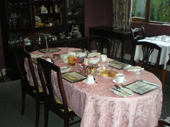 Cradog Farmhouse Bed & Breakfast: The breakfast