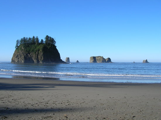 Forks, Etat de Washington : Second beach