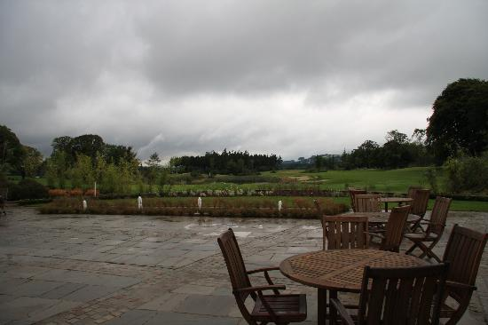 Tulfarris Hotel and Golf Resort: View from the bar