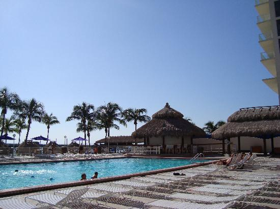 Newport Beachside Hotel and Resort : Pool on a nice day