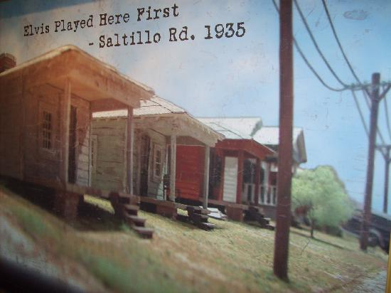 Tupelo, MS: the shack where he was born