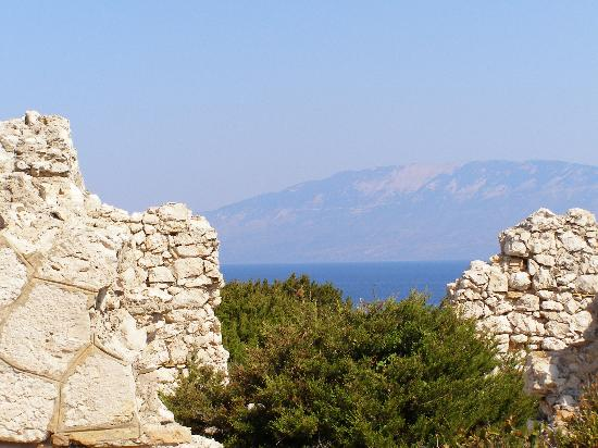 Agios Dimitrios, Greece: View of Kefalonia