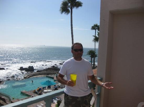 Las Rosas Hotel & Spa: Daytime Balcony View