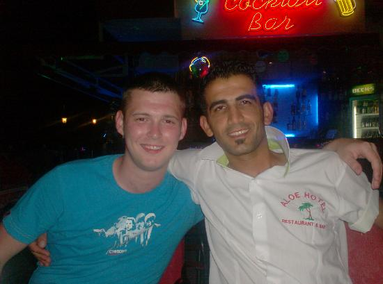 Aloe Apart Hotel : michael and tony