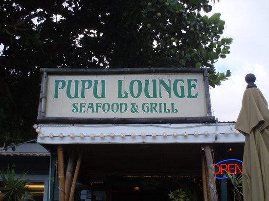 Pupu Lounge Seafood & Grill : Pupu Lounge