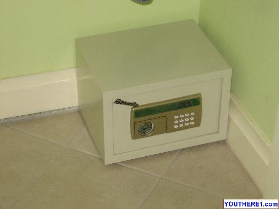 Habitat Terrace: In-room safe for your valuables