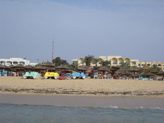 Hotel Nesrine: la plage