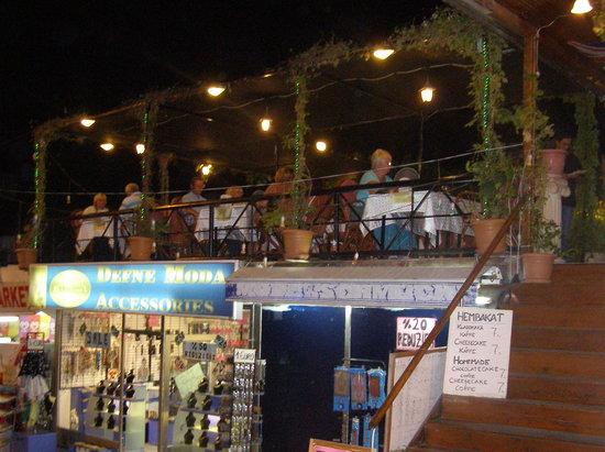 Gul Restaurant: View from  street