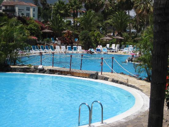 Hotel Puerto Palace: Estas son vista de la piscina