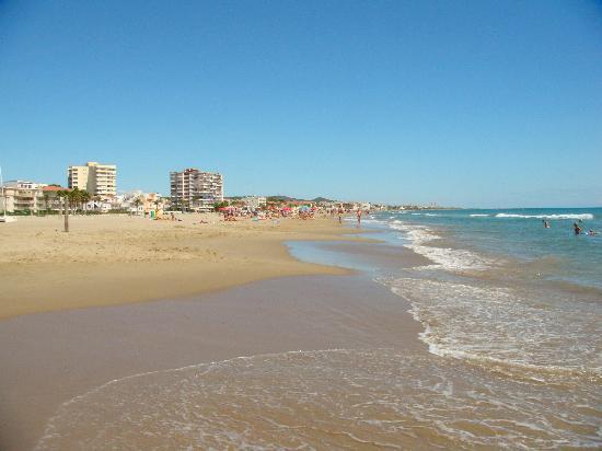 La playa de Sant Salvador