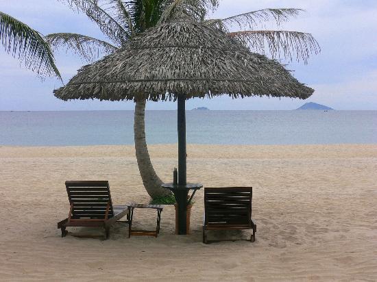 Victoria Hoi An Beach Resort & Spa: plage de la suite