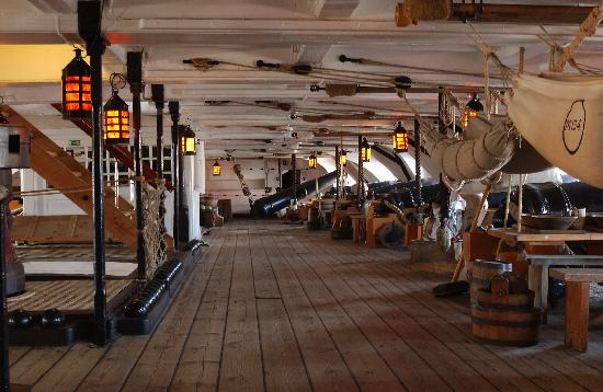 Hms Victory Interior Picture Of Portsmouth Historic