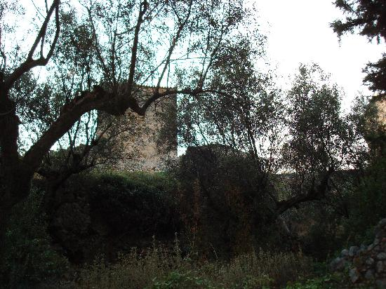 Kardamili, Hellas: Old castle