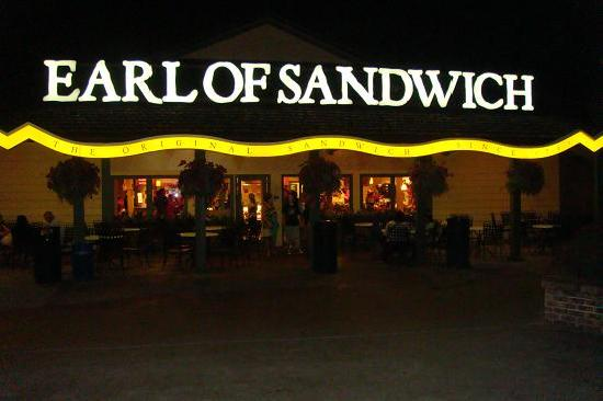 Earl of Sandwich: Ideal para un bocata