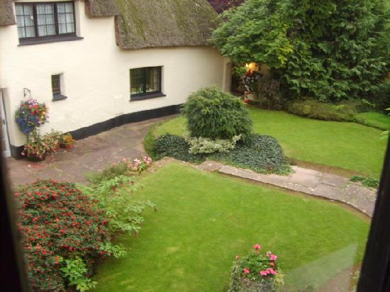 The Barton Cross Hotel: View from the room (1)