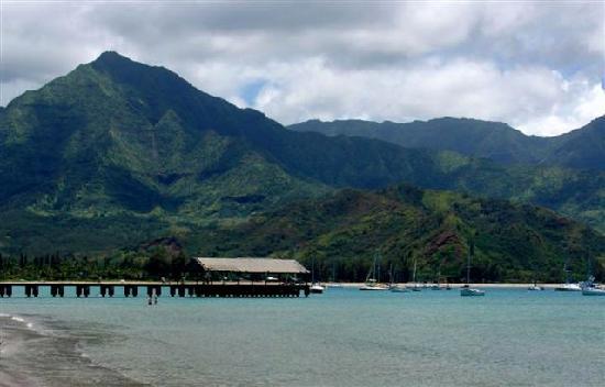 Hanalei Beach: Hanalei Pier