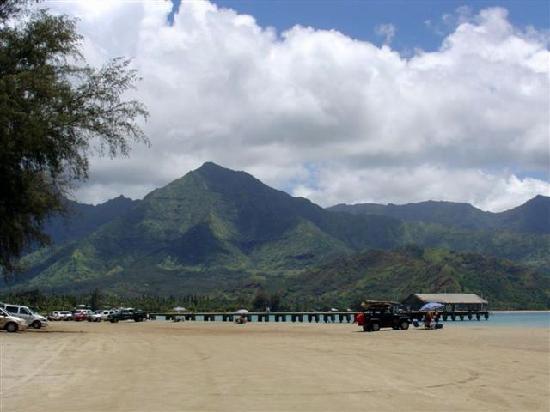 Hanalei Beach: Hanalie Bay