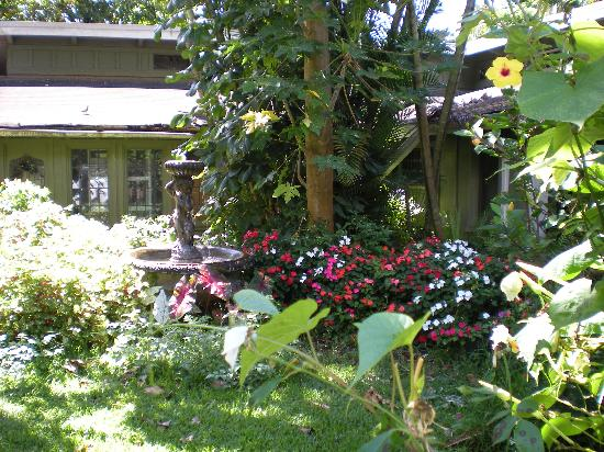 Classic Vacation Cottages: The garden outside our room