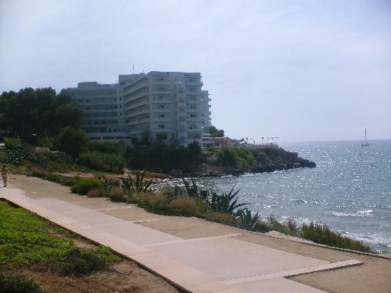 Hotel Best Negresco : back view