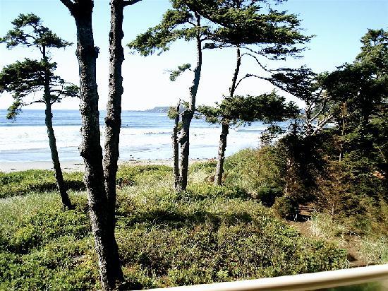 Long Beach Lodge Resort balcony view