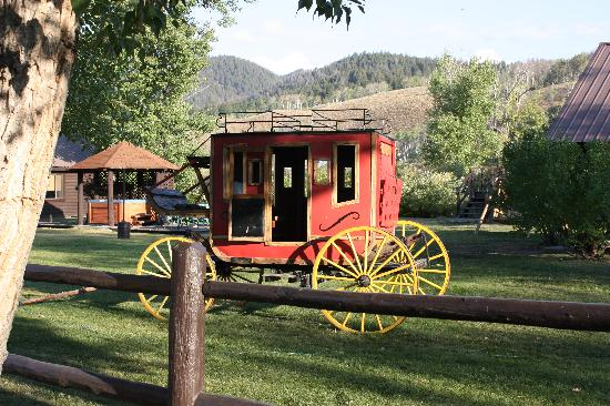 Parade Rest Ranch: carriage