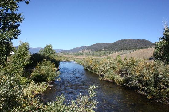 Parade Rest Ranch: creek