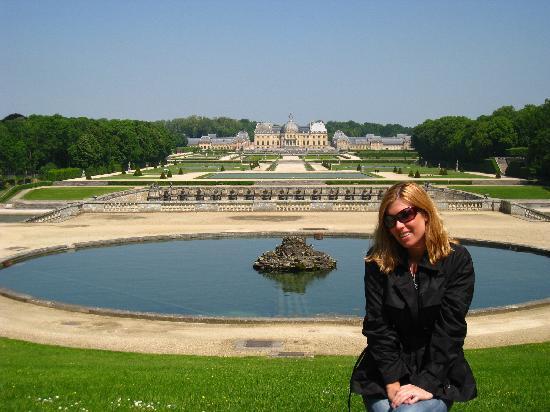 Burgund, Frankreich: Chateau Vaux-le-Vicomte