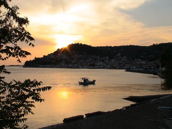 Eubée, Grèce : Limni Sunset
