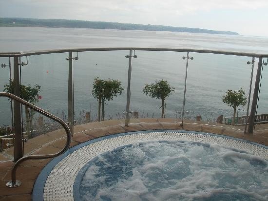 Cliff House Hotel: The amazing outdoor tub