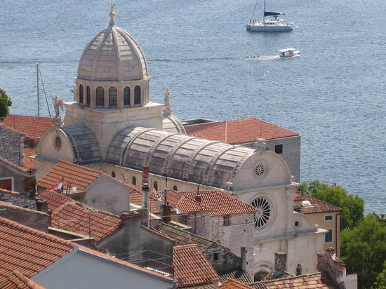 Sibenik, Croazia: Šibenik - Cathedral of St. Jacobs