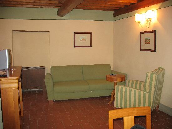 Cavriglia, Italia: The living room