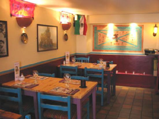Cafe Mexicana: Seating Area