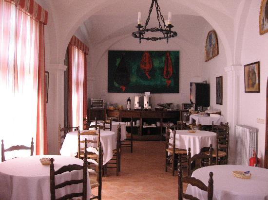 Hotel La Almazara: salle à manger