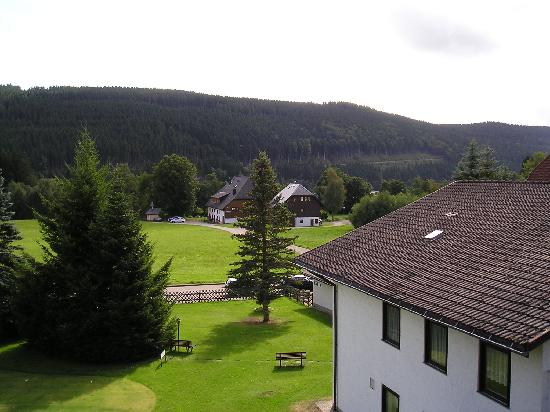 Parkhotel Waldeck: Beautiful View from Room and Balcony