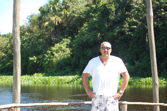Laguna Mar: Me on our jungle excursion