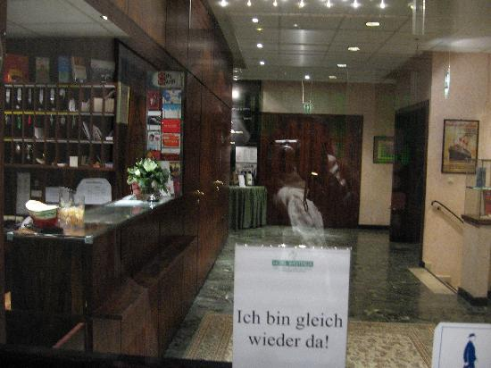 Hotel Westfalia: la reception